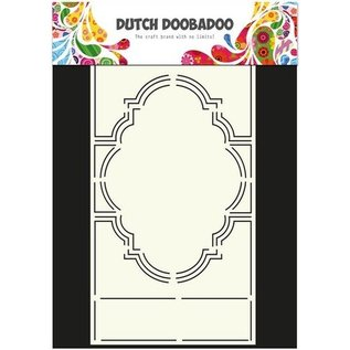 Dutch DooBaDoo A4 plast skabelon: Swing Card Romance