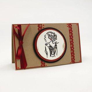 Tonic Studio´s Rubberstempel: Girl Stamp Set