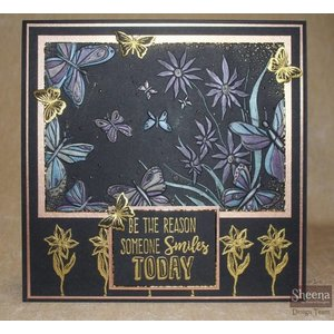 Crafter's Companion 3D embossing folder: Exclusive butterfly motifs