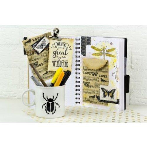 Bullet journaling  und Lettering ist Trend!