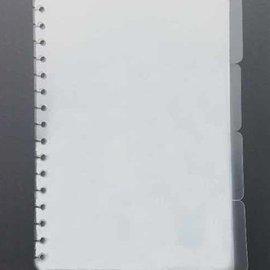 Pronty Bullet Journal: Tablettes, Transparent 4 pièces