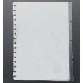 Pronty Bullet Journal: Tabsheets, Transparent 4 peças