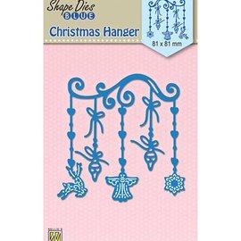 Nellie Snellen Stanzschablonen, Weihnachtsmotive, 81 x 81 mm, weihnachtskarten basteln