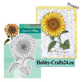 Penny Black Rubber stamp, sunflower