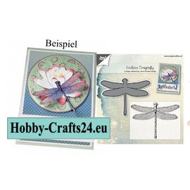 Joy!Crafts / Jeanine´s Art, Hobby Solutions Dies /  Joy! Crafts, coupe et gaufrage modèle: Dragonfly