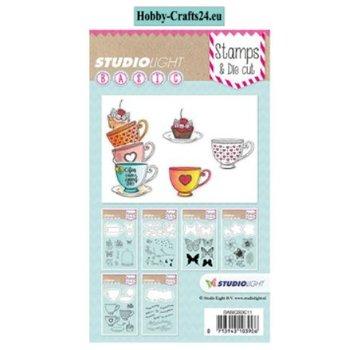 Studio Light StudioLight, stempel + Snij en emboss Sjablonen / Mall
