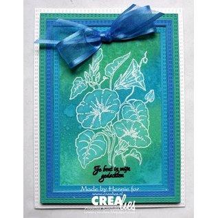 Crealies und CraftEmotions Stencils XXL 12 rechthoeken voor het snijden van materialen met stansmachine