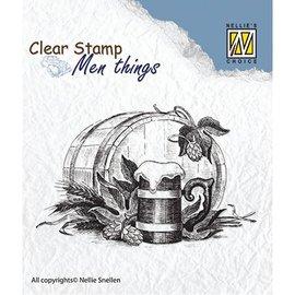 Nellie Snellen Nellie Snellen, timbre transparent: Men Thing, bière