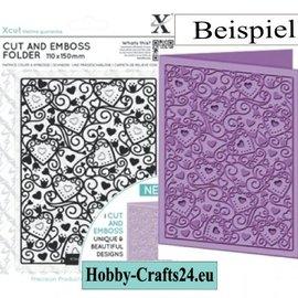 Docrafts / Papermania / Urban NUEVO: un relieve carpetas de zugleicherzeit impresionado y golpes!