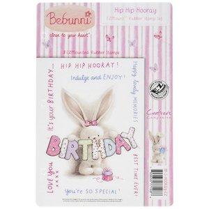 Crafters Company: BeBunni Gummi stempel, BeBunni Tema: Bursdag