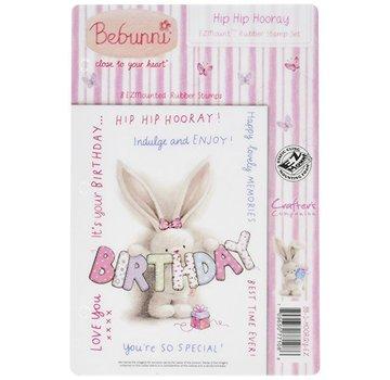Crafters Company: BeBunni Rubberstempel, BeBunni Thema: verjaardag