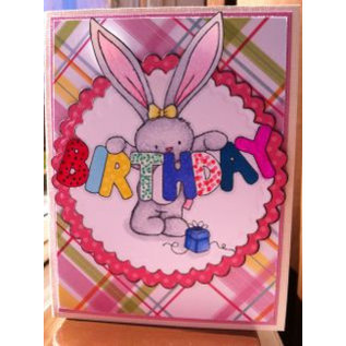 Crafters Company: BeBunni Gummi Stempel, BeBunni Thema: Birthday