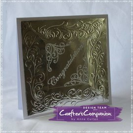 Die'sire Embossing Folder, Elegant Border and Corner