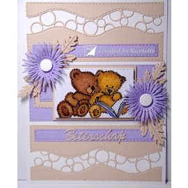 Joy!Crafts / Jeanine´s Art, Hobby Solutions Dies /  Stamp trasparente: orsacchiotti