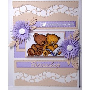 Joy!Crafts / Jeanine´s Art, Hobby Solutions Dies /  Transparent stamp: teddy bears