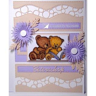 Joy!Crafts / Jeanine´s Art, Hobby Solutions Dies /  Transparant Stempel: teddyberen