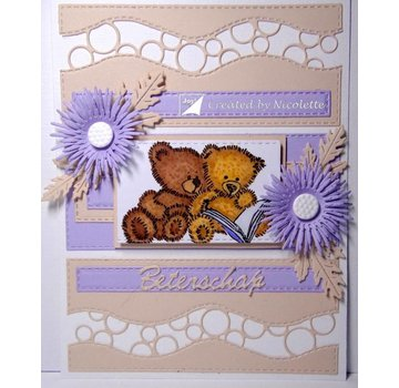 Joy!Crafts / Jeanine´s Art, Hobby Solutions Dies /  Transparent stamp: teddy bears