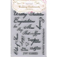 Timbre transparent, A5, Sentiments de mariage