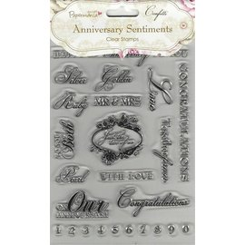 Docrafts / Papermania / Urban Transparent stamp, A5, text english