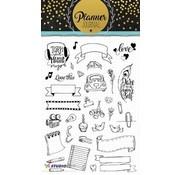 Studio Light Transparent stamp: A5 Planner Journal nr 08