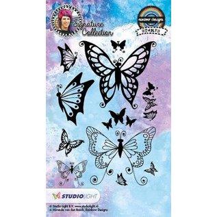 Studio Light Transparante stempel: vlinders