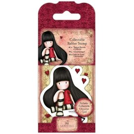 "Gorjuss / Santoro Mini Rubber Stempel, Santoro ""Gorjuss"" No. 21 The Collector"