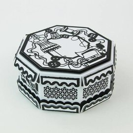 Tonic Tonic, Cutting og prægning skabelon: Kaleidoscope Box - Copy