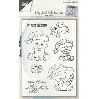 CREATIVE EXPRESSIONS und COUTURE CREATIONS Motiefstempel, kerstbeer / baby