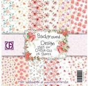 """Designer Papier Scrapbooking: 30,5 x 30,5 cm Papier Paper block """"Flower Dreams"""""""