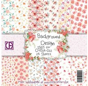 "Designer Papier Scrapbooking: 30,5 x 30,5 cm Papier Papier Block"" Blütenträume"""