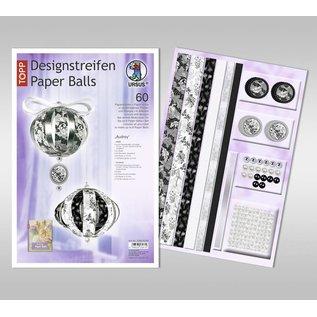 BASTELSETS / CRAFT KITS Craft SET: festlig dekoration, papirbolde