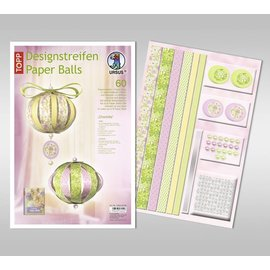 BASTELSETS / CRAFT KITS Craft SET: festlig dekoration, papirbolde