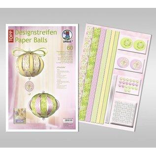 BASTELSETS / CRAFT KITS Craft SET: decoração festiva, bolas de papel