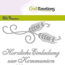 Spellbinders und Rayher Stanzschablonen: Texte allemand: Pour vous - Copy