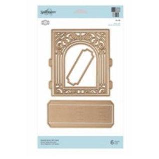Spellbinders und Rayher De Grand Arch 3D-kaart van Spellbinder (S6-138)