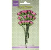 Marianne Design Assortiment de bourgeons de boîte en papier, rose, 15 pièces