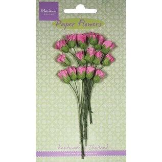 Marianne Design Caixa de papel gomos sortimento, rosa, 15 peças