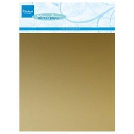 Marianne Design A5 cartão de espelho, prata, 5 peças - Copy