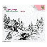 Nellie Snellen, Transparent stamp