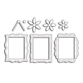 Penny Black Plantilla de perforación: 3 marcos decorativos decorativos
