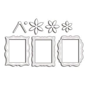 Penny Black Gabarit de poinçonnage: 3 cadres décoratifs décoratifs