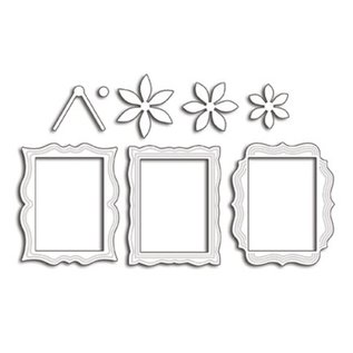 Penny Black Stansemaler: 3 dekorative dekorative rammer