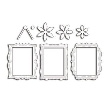 Penny Black Modello di punzonatura: 3 cornici decorative decorative