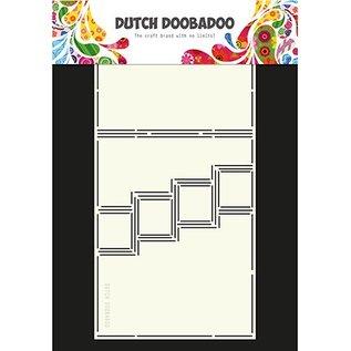 Dutch DooBaDoo A4 plast skabelon: Kort type trappe kort