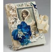 Karten und Scrapbooking Papier, Papier blöcke Designer Block, Vintage Joy