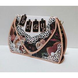 Dutch DooBaDoo A4 plast skabelon: Box Art Bag