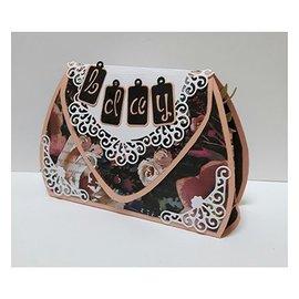 Dutch DooBaDoo A4 Plastik Schablone: Box Art Tasche