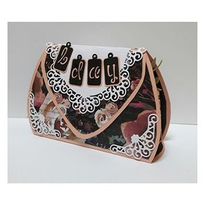 Dutch DooBaDoo A4 plastic sjabloon: vak Art Bag