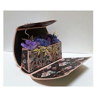 Dutch DooBaDoo A4 plastic template: Box Art Bag