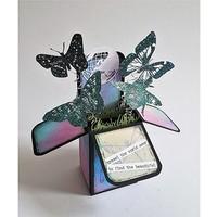 A4 Plastik Schablone: Box Art Popup Box